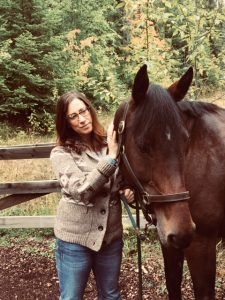 Tammy and Rosie the Horse